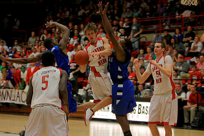 GWU Men's Basketball vs. UNC Asheville; January 12, 2011.