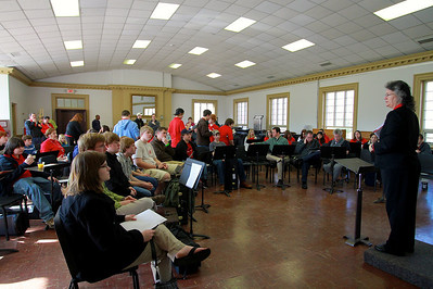 Brassfest at Gardner-Webb University; Febuary 25, 2011.