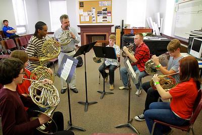 Brassfest at Gardner-Webb University; Febuary 25, 2011.
