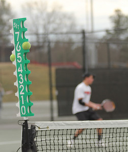 The GWU Men's Tennis team faced Presbyterian College on February 9th, 2011