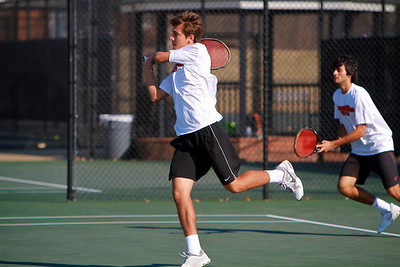 Men's Tennis vs. Lees-McRae; Feb 16, 2011.