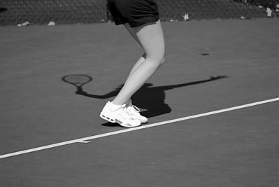 Ladies Tennis Practice; Feb 16, 2011.