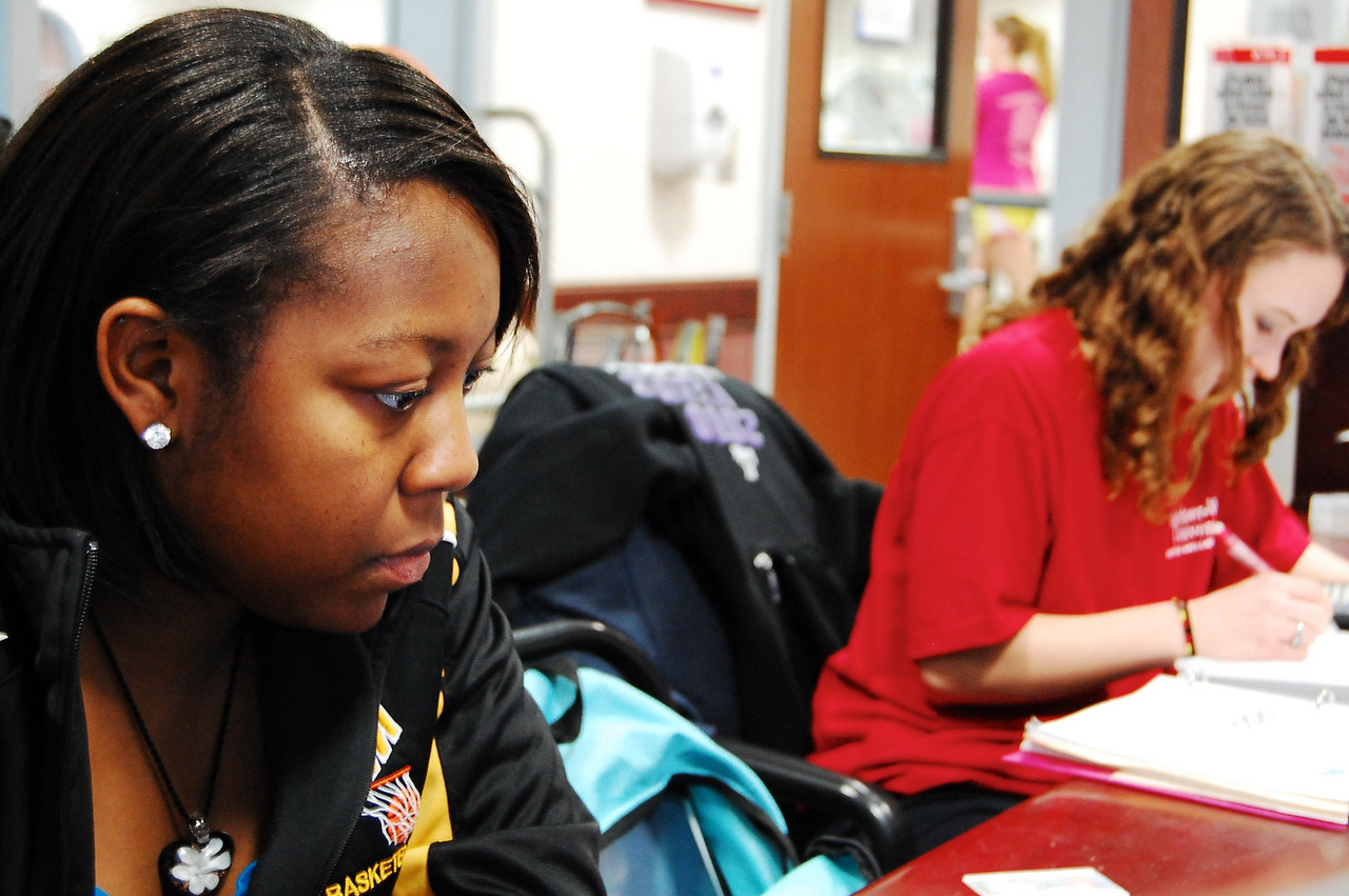 Cold day with the potential to snow in the near future leaves many students to find activities indoors.