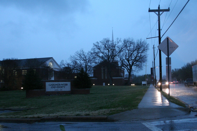 GWU campus hit with massive rain and a tornado watch.
