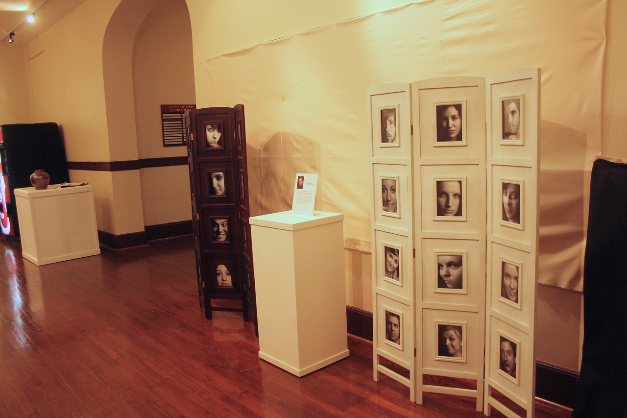 The student photo show is being displayed in CSH.