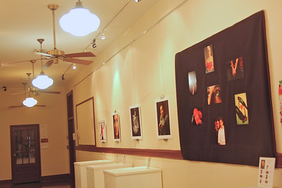 Student photo show at GWU.