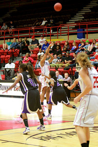 Women's Basketball vs High Point; February 21, 2011.