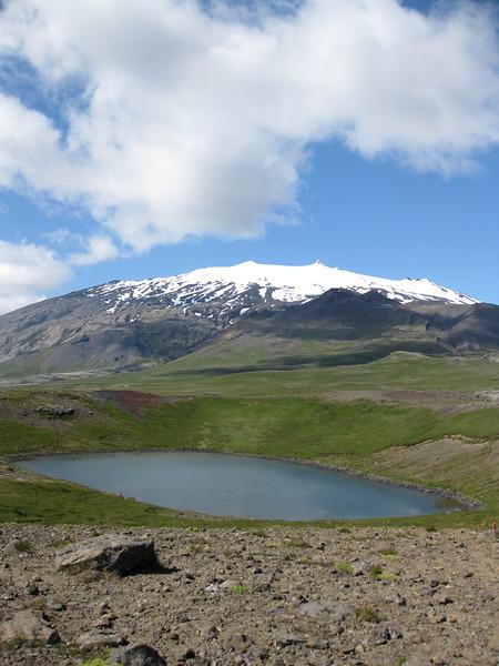 Bárðarlaug og Snæfellsjökull