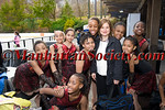 Sharon Cohen with Children in the Figure Skating in Harlem Program
