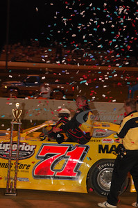 Don O'Neal in Victory Lane @ Florence Speedway