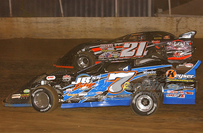 7r Kent Robinson and 21 Jason Montgomery