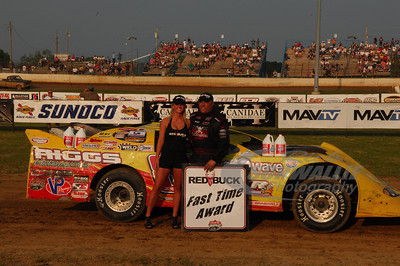 Scott James won the Red Buck Cigars Fast Time Award