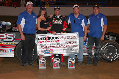 Steve Shaver won the Red Buck Cigars Fast Time Award