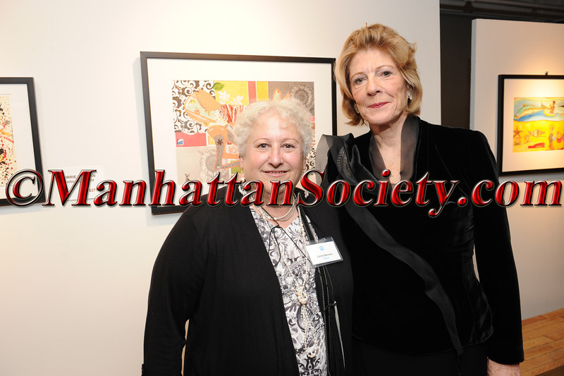 Artist Lorrie Berman, Agnes Gund (President Emerita of MoMA)