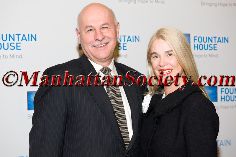 Kenn Dudek, Lorna Hyde Graev attend Fountain House Symposium & Luncheon, Understanding Neuroplasticity, How The Brain Heals Itself on Monday, May 2, 2011 at The Pierre Hotel, 2 East 61st Street, New York, NY  PHOTO CREDIT: Copyright ©Manhattan Society.com 2011