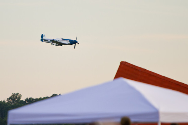 The Tullahoma Air show and fireworks Show held July 1, 2011