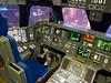 Shuttle flight deck mockup