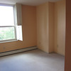 2nd BR is VERY small. Room for a desk and an aerobed when guests arrive. Really!
