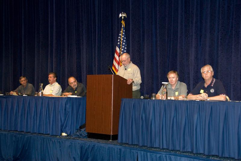 BA Bob Pyzeski, VP Joe Manley, Monitor Pat Hunt, President Joe Connolly and Secretary Jim Trainor.