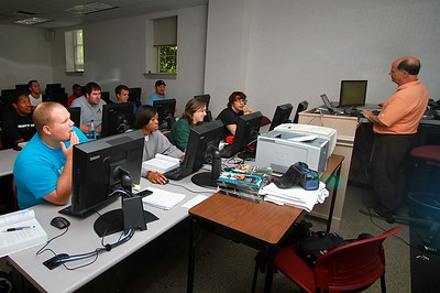 Business classroom photos; Spring 2011