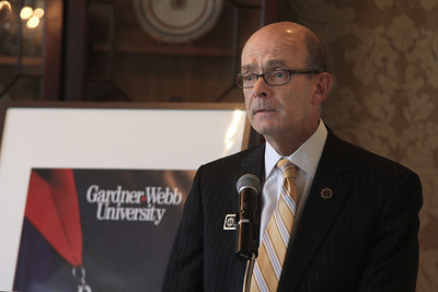 Dr. Frank Bonner, President of Gardner-Webb University, concluded the Executive Breakfast with remarks.3