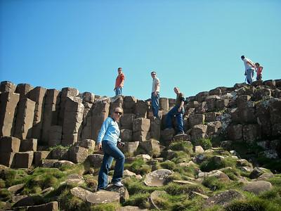 Giant's Causeway, Northern Ireland 2010 Mission Trip.