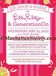 NEW YORK-MAY 11:  Lilly Pulitzer Shopping Event In Support of Generation ON  on Wednesday, May 11, 2011 at Lilly Pulitzer Store, 1020 Madison Avenue; New York, NY 10075 (PHOTO CREDIT: ©Manhattan Society.com 2011 by Christopher London)