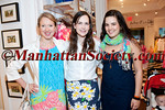 NEW YORK-MAY 11: Lucy Jane Lang, Maggie Jones Patton, Christine Murphy attend  Lilly Pulitzer Shopping Event In Support of Generation ON  on Wednesday, May 11, 2011 at Lilly Pulitzer Store, 1020 Madison Avenue; New York, NY 10075 (PHOTO CREDIT: ©Manhattan Society.com 2011 by Christopher London)