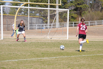 Girls Varsity vs Lakeside-Evans (02/19/11)