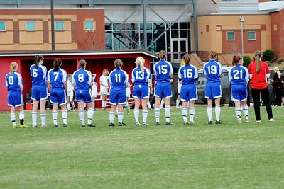 Girls Varsity -vs- N Oconee (03/08/11)