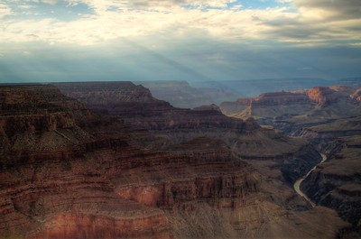 Pima Point at Grand Canyon - HDR Processed using Photomatix and Aperture
