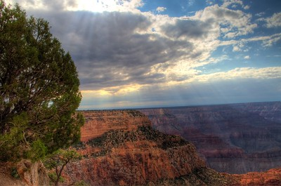 Hopi Point at Grand Canyon - HDR Processed in Photomatix and Aperture