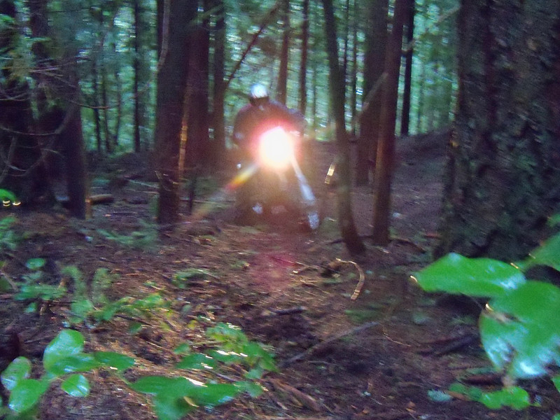 There it is, that was some serious riding, thanks Bill and Scott, and thanks Scott for opening up these great trails...