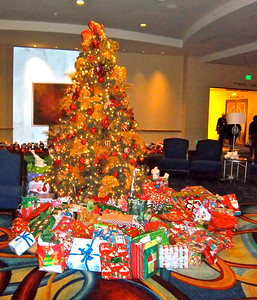Santa brought over 250 gifts for 50 Travelers!