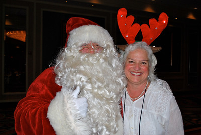 Santa and Executive Director Dee Duncan