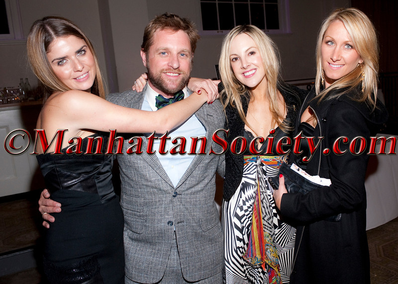 """Jess Franks, George Oliphant, Katie Masich, Casey Thompson attend """"11th Annual Adults in Toyland-Under the Boardwalk"""" hosted by The Hassenfeld Committee and the KiDS of NYU Foundation Associates Committee on Thursday, November 3, 2011 at 583 Park Avenue, New York City, NY   PHOTO CREDIT: Copyright ©Manhattan Society.com 2011 by Christopher London"""