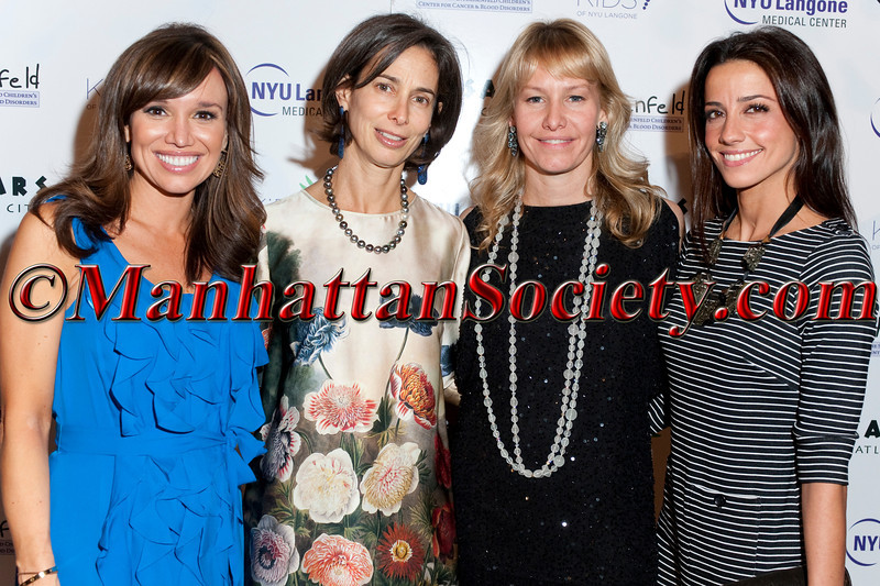 "Sara Gore, Alice Tisch, Susan Block Casdin, Shoshanna Lonstein Gruss attend ""11th Annual Adults in Toyland-Under the Boardwalk"" hosted by The Hassenfeld Committee and the KiDS of NYU Foundation Associates Committee on Thursday, November 3, 2011 at 583 Park Avenue, New York City, NY   PHOTO CREDIT: Copyright ©Manhattan Society.com 2011 by Christopher London"