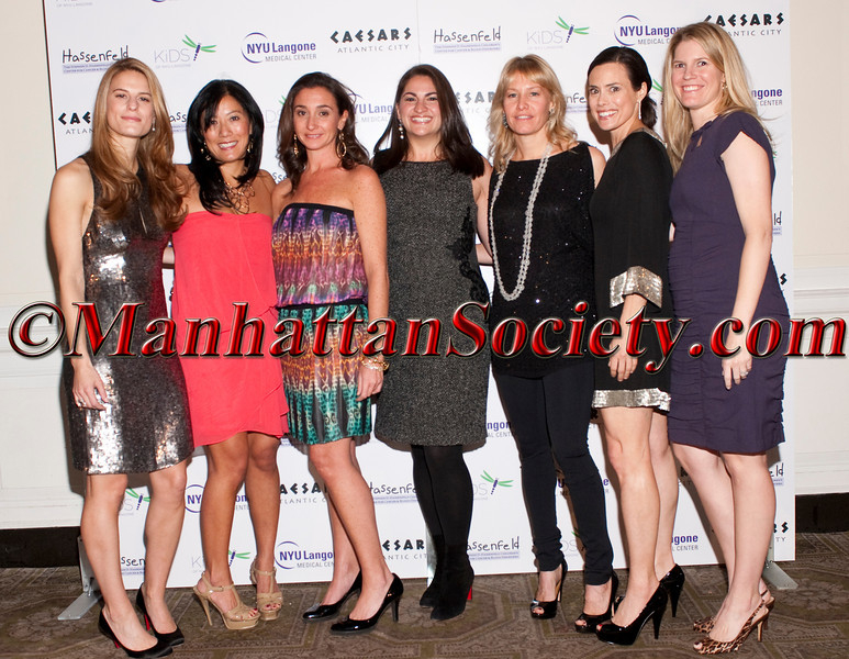 """Brooke Jaffe, Patti Kim, Kelly Kennedy Mack, Harlan Saroken, Susan Block Casdin,Keri Glassman, Kimberly Goodwin attend """"11th Annual Adults in Toyland-Under the Boardwalk"""" hosted by The Hassenfeld Committee and the KiDS of NYU Foundation Associates Committee on Thursday, November 3, 2011 at 583 Park Avenue, New York City, NY   PHOTO CREDIT: Copyright ©Manhattan Society.com 2011 by Christopher London"""