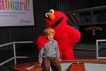 Kinsey Casdin and Elmo  - John Abbott photography