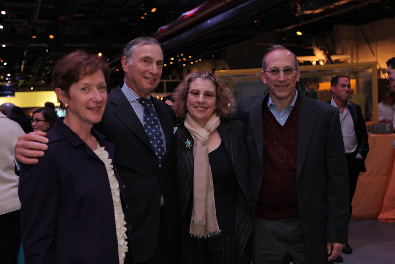 Dr  Catherine Manno, Dr  Robert I  Grossman, Trudy and Robert Gottesman  - John Abbott photography