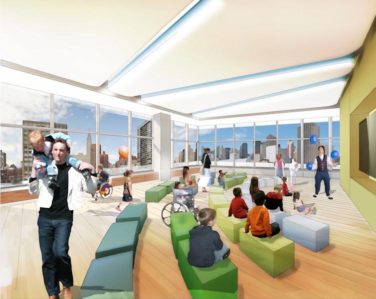 Peds 7th Floor Multipurpose - NBBJEnnead Architects