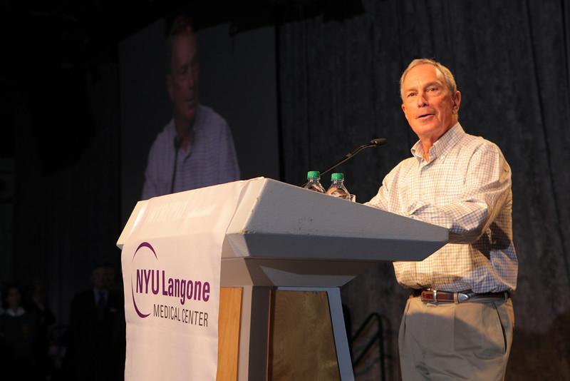 Mayor Michael Bloomberg - John Abbott Photography