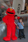Elmo and guests  - John Abbott photography