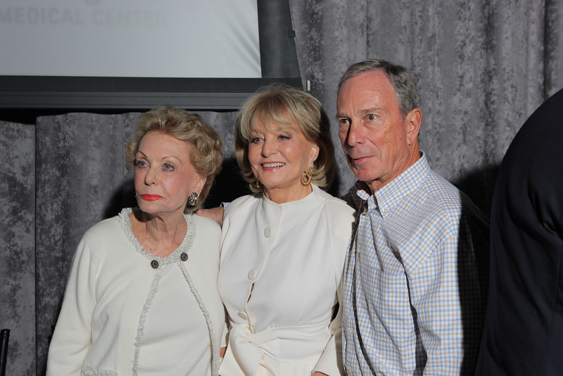 Photo 1 - Sylvia Hassenfeld, Barbara Walters, Mayor Michael Bloomberg - John Abbott Photography