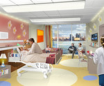 Peds 8th Floor Inpatient Room - NBBJEnnead Architects