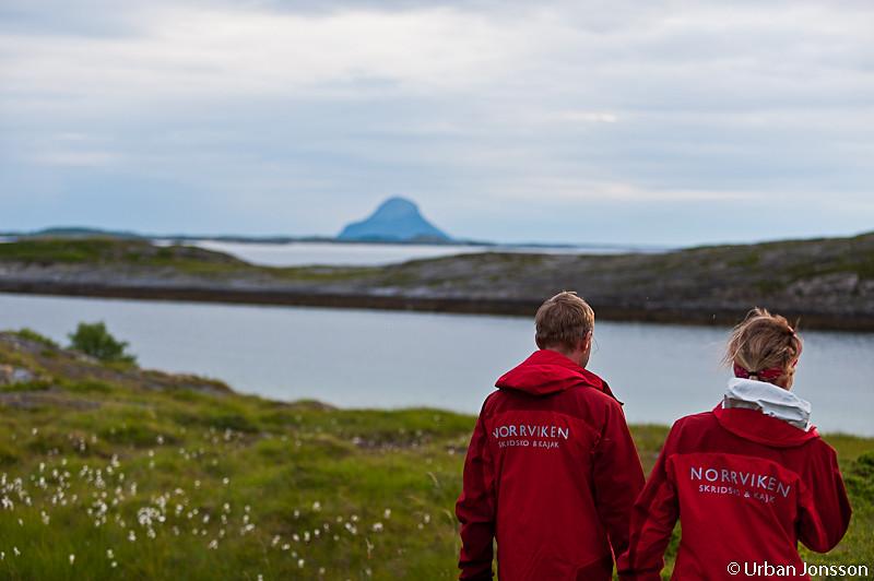Andres & Johanna spanar in Lovund som blir morgondagens mål.
