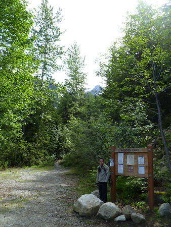 Hidden Lake Peak: July 9, 2011