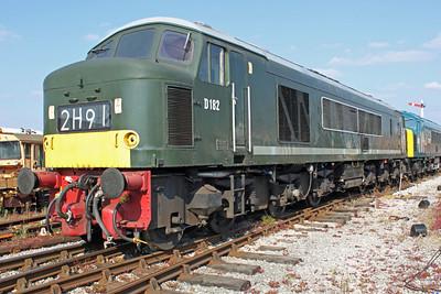 Class 46 D182 (46045) Swanwick Jct.