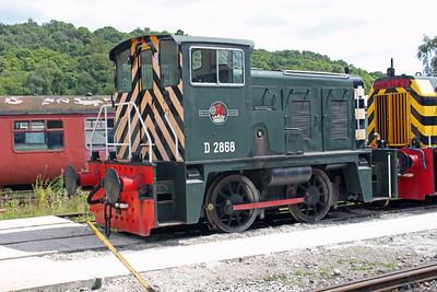 Class 02 D2868 Peak Rail
