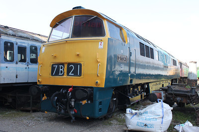 Class 52 D1048 'Western Lady' Swanwick Jct.